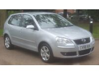 VW POLO 1.4 MATCH 58 PLATE 2008 2P/LADY OWNER 98000 FULL SERVICE HISTORY AIRCON ALLOY MANUAL 5DOORS