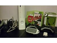 Xbox360 console and accessories