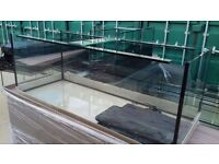 I have for sale new 5x2x2 10 mm glass 540l we have other tanks in stock available