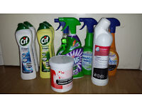 Cleaning Products and Equipment for cleaning business