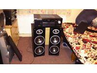 SONY Amp+Powerfull speakers