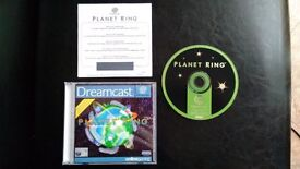 Dreamcast Game - Planet Ring, new, excellent condition