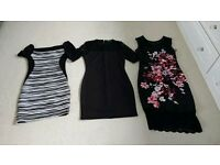 3 x evening dresses size 10