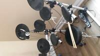 Master Electronic Drumset With All Components