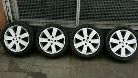 """16"""" inch Ford Fiesta Alloy wheels With Tyres"""