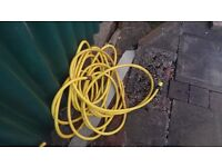 Heavy duty hose, industrial strength (yellow)