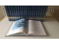 Book of Knowledge by Grolier 20 books A to Z Plus Volume 1 Children's Britannica