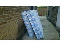 Free double bed and matress