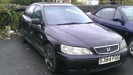 HONDA ACCORD 1.8 SALOON 1999 £575