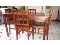 3 seater& corner sofa-4 steat dinning table/chair, 2 bar stool&coffee table, nest table, chest draw