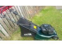 Hayter hawk 41 self propelled petrol lawnmower