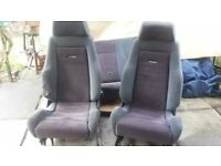 Ford Escort RS Turbo S1/S2 Recaro Seats