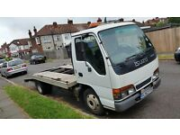 Isuzu NKR RECOVERY TRUCK 3.0 DIESEL MANUAL LONDON LEZ COMPLIANT GOOD CONDITION LONG MOT LIGHT BODY