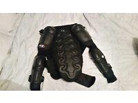 Men's XL chest/arm motorbike armour