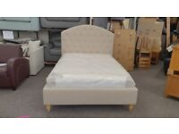 Furniture Village Lucia Double Fabric Bed Frame (BED ONLY) Can Deliver