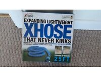 XHOSE 25ft (X3 EXPANSION) EXPANDING LIGHTWEIGHT THAT NEVER KINKS