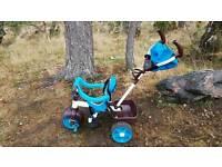 Kids push along trike