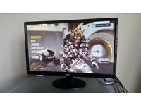 Acer 24 inch full HD widescreen monitor. Perfect condition. HDMI, DVI and VGA.