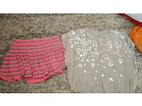 Girls clothese size 9-13 mix of things
