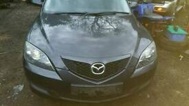 Mazda 3 1.6 diesel 2007reg breaking for parts