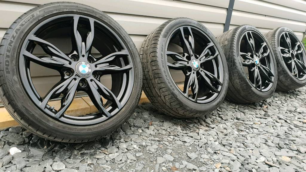 d471fe52f59 Genuine i alloy wheels freshly refurbished gloss black JPG 1024x576 Bmw  refurbished wheels