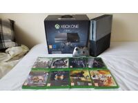 Halo 5 Ltd Ed Xbox One Console 1TB + Controller + 8 games (Great condition)