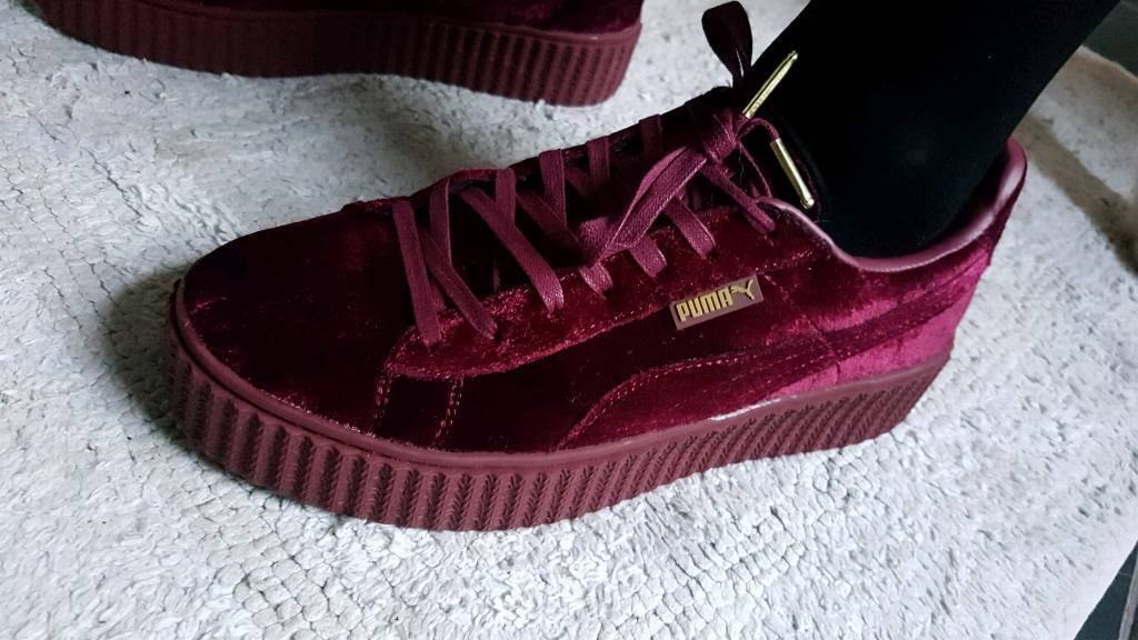 newest 9a501 e8df2 Puma Rihanna fenty shoes ,size 6.5, velvet creepers trainers | in  Ravenhill, Belfast | Gumtree