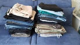 Job lot Jeans & Trousers