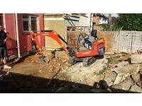 Groundworks undertaken - footings, soakaways, drainage, driveways etc