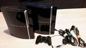 Two Playstation 3's