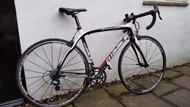 Road Bike size 52 Excellent condition Full Carbon frame and Campagnolo Chorus groupset