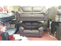 BONDED ITALIAN LEATHER 3+2 AVAILABLE IN 4 COLOURS 2 DESIGNS BRAND NEW STUNNING QUALITY & PRICE £499