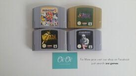 Nintendo 64 N64 Games for sale
