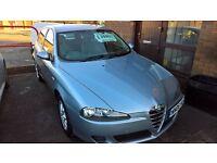 Alfa Romeo 147 1.9 jtmd Diesel 6 speed 150bhp 16v blue 85k miles FSH
