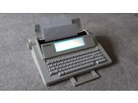 Brother LW600i inkject wordprocessor. As new with manual, and refillable cartridge.