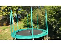 Tp 10ft trampoline. Was £400 new