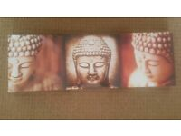 3 Buddha Canvas Pictures