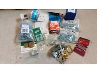 Box of random useful stuff (screws, cable clips, etc)