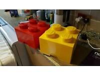 Lego boxes x2