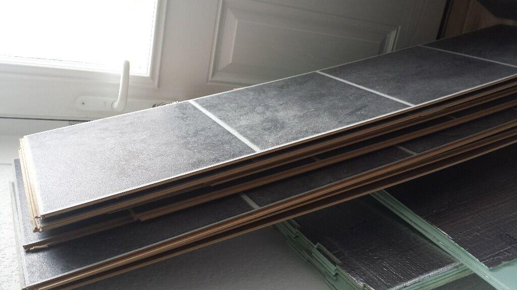 Tile Effect Laminate Flooring Black Slate Tile Effect Laminate
