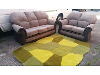 BUY THE SOFIA 3 SEATER £399 GET THE 2 SEATER FREE !! THIS SOFA IN JUMBO MINK CORD WITH SNAKE PYTHON