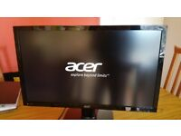 Acer monitor 27 inch with HDMI