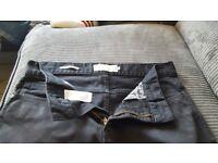 Next black skinny jeans size 30s