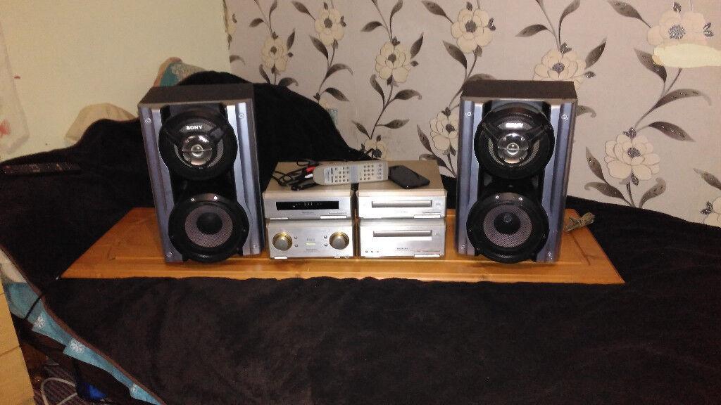 Technics+Sony audio set