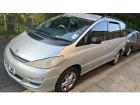 Toyota Privia Silver Car |QUICK SALE| Low Milage | 2004