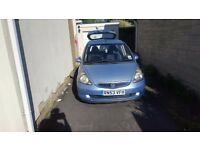 Honda jazz automatic 1.4 blue