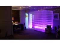 LED cube inflatable Photo Booth Hire | Latest Technology and best fun in Scotland