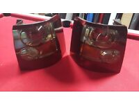 Genuine Range Rover Sport Rear Tail Lights Lamps 2005-2009 Smoke Black Tinted With Bulbs