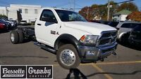 2015 Ram 5500 HD Chassis ST *-* NEUF, CHROME, HITCH MAX, *-*