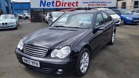 Mercedes-Benz C Class 1.8 C180 Kompressor Classic SE 4dr - NEW MOT ON DELIVERY